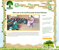 CLICK TO ENLARGE : Web Development : Sri Sai Prasanthi School